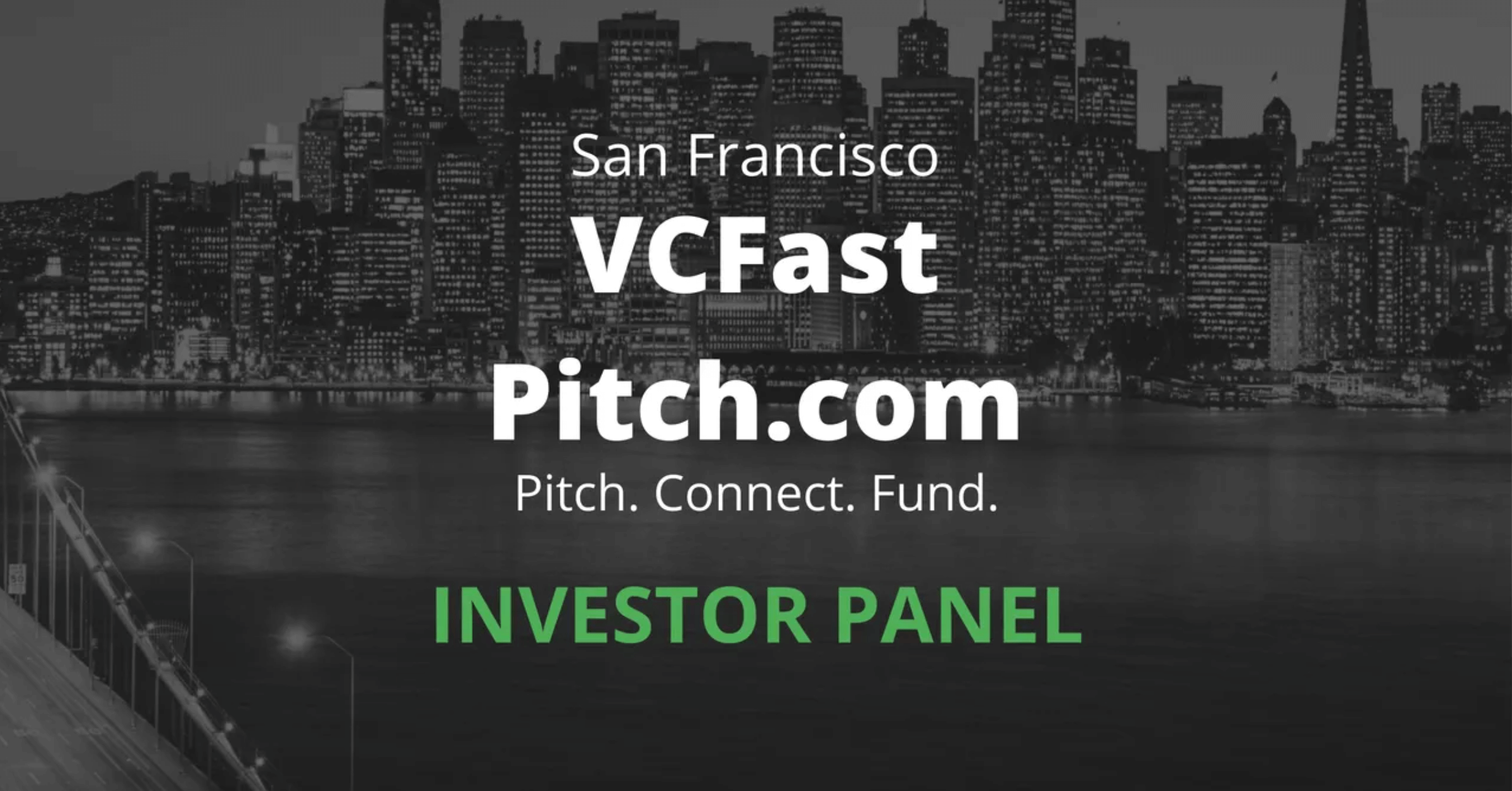 VC Fast Pitch Investor panelists