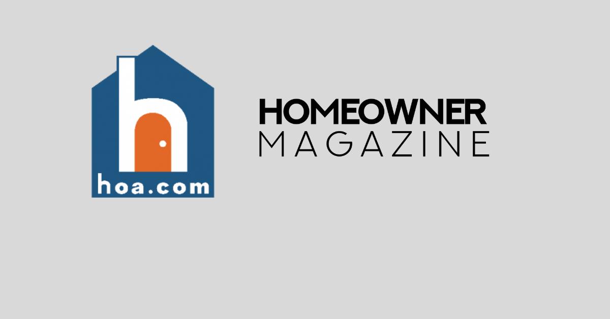 Homeowner Magazine and The Homeowner Alliance (HOA.com) Announce Strategic Partnership
