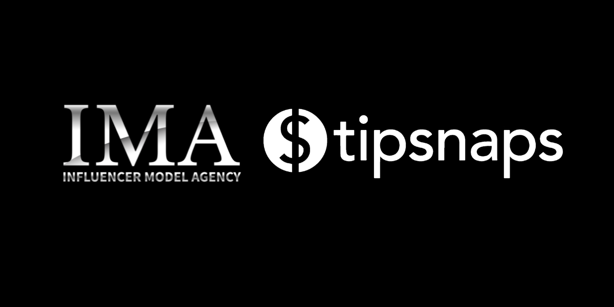 Influencer Model Agency and Tipsnaps Partner to Empower Models to Make More Money AND Keep their Clothes On